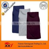 summer mens solid color tank top wholesale dri fit tank top wholesale plain loose tank top