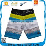 Latest Fashion Trend Sublimation Sea Wave Print Board Shorts Patterned for Sale