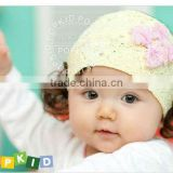CUTE BABY FLOWER LACE COTTON HEADBAND INFANT HAIRBAND HAIR BOWS