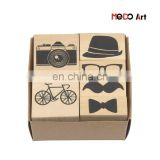 Wholesale Non toxic Wooden Kids Toy Stamps Drawing Toy