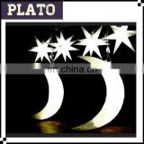 Beautifyl Party decoration plastic inflatable cartoon shining moon and star