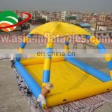 Giant funny Inflatable water tent with pool