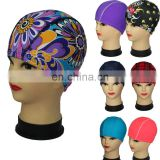 2015 Lycra Fabric swim cap