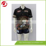100% Polyester Sublimated Printing Polo Shirt