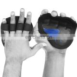 Black & Blue Color Weightlifting Gloves - Gym gloves pad