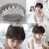 Rhinestone Crystal Crown Headband Tiara Wedding Bridal Flower Girl Prom