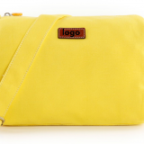 yellow canvas shoulder bag from China factory