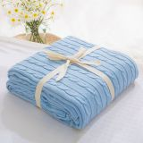 Plaid Blankets Beds Cover Soft Throw Blanket Bedspread Bedding Knitted Blanket Air Conditioning Sleeping Bedspread