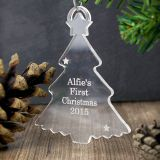 Custom Competitive price Acrylic Christmas Tree Ornament for sale