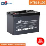Csbattery 12V100ah Long Life Gel Solar Battery for Wind-Power-Storage/Solar-Street-Lights/Power-Bank