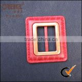 ABS&Nylon imination leather buckle