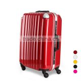 aluminium hardshell abs+pc trolley case / polycarbonate luggage
