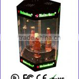 Perfect acrylic led bottle glorifier bottle stand led liquor display Advertisement products!