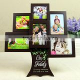 Happy tree table photo wall 5 inch baby birthday creative combination wedding gift wooden frame