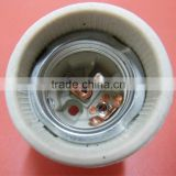 Hot Sale! Porcelain Lamp Holder E27 F519 porcelain lamp socket lamp base ceramic lamp socket lampholder