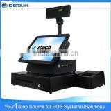 DTK-POS1578 15 Inch OEM All In One POS System Touch Screen Supermarket Cash Register                                                                         Quality Choice