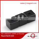 N35-N52 N30EH-N38EH block permanent neodymium magnet for alternator generator passed by ISO14001, ISO9001, ISO/TS16949