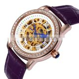 Buy 5 get 1 Casual Mechanical Wrist Watch Ladies Women Hand Fashion Brands Fancy Watches