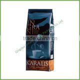 Gravure Printing Surface Handling stand up coffee bag/flat bottom aluminum foil material