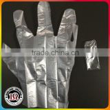 Disposable Clear Single Wrapped PE gloves                                                                         Quality Choice