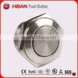 HBAN CE ROHS (16mm)Stainless steel or Nickel-plated brass momentary Switch ,push button switch