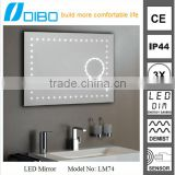 Bathroom Led Cabinet Lighted Vanity Mirror with Light, UL LED bathroom mirror                                                                         Quality Choice