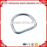Zinc Plated Nose ring & handle bag ringRigging Hardware fitty D Ring furniture handle in Professional Manufacturer
