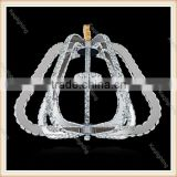 2016 Guzhen direct sell Modern Designer Crystal Pendant Chandelier Light Chinese K9 Led lamp for shop, bar, restaurant