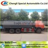 6*4 DONGFENG Sulfuric Acid Tank Truck, Different Kinds Of Chemical Liquid Transport Truck