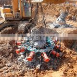 Concrete pile project excavator boom latest excavator crane part pile breaker type concrete pile breaker