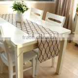 2015 Valentine's Day Home Textile Printed Burlap Table Runner                                                                         Quality Choice