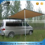2016 Australian most popular oxford fabric aluminum pole retractable roof awning for car                                                                                         Most Popular