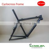 Chinese cheap carbon cyclocross frame