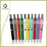2014 hot selling products in America rainbow smoke cigarettes dry herb vaporizer pen compatible with ego battery