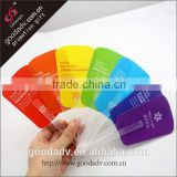 Full color priting pp fan guanzhou factory promotional pp hand fan