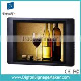 "Indoor supermarket products advertising promotional 15"" LED B/L advertising monitor"