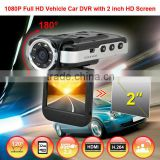 hot NTK96220 2 inch with 8 IR light video registrator for car hidden cameras                                                                         Quality Choice