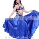 Hot selling satin lady wholesale belly dance sexy skirt
