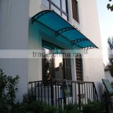 10 Years Warranty Plastic Transparent Waterproof Polycarbonate Cheap Awnings with UV Protection