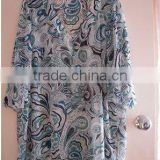 printed fashion beach cover up