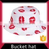 Leather bucket hat custom