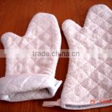 Long White Towel Oven Mitt Oven Glove Baking Glove