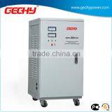 SVC-20KVA Vertical motor single phase servo Meter display electromechanical control automaticAC voltage regulator/stabilizer/AVR
