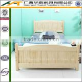 Simple princess bed,solid pine wood single bed kids furniture