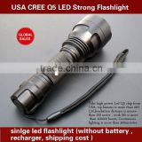 Hot Sales!! LED CREE Torch Outdoor Strong Rechargerable photography strobe flash lighting kits
