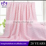 China manufacturer 80x100cm baby useing flannel blanket soft and multipurpose microfiber blanket