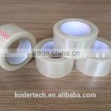 China manufactuer water based acrylic adhesive transparent bopp packing tape for carton sealing