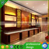 Jewelry Store Wooden And Glass Display Showcase Jewelry Store Interior Decoration Designs