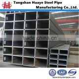 Cold bending Hollow Section Rectangulr steel Pipe rectangular Pipe construction steel pipe