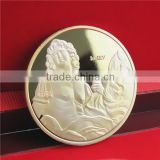 New Arrival Gold Coin Replica / France Brass Gold Souvenir Coin / Hot Sale Ancient Coin Roman